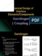Mechanical Design of Machine Elements-coupling