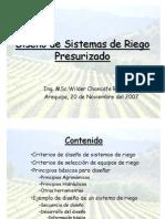 Curso Riego - Diseño