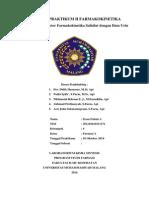"""Jurnal Praktikum """"Penentuan Parameter Farmakokinetika Salisilat dengan Data Urin"""""""