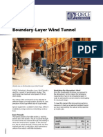 Boundary-Layer Wind Tunnel