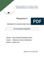 Bioquímica I. Informe 9