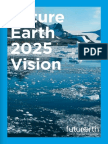 Future Earth 10 Year Vision Web