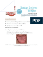 Tongue Lession Print