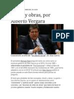 Shock y Obras. Por Alberto Vergara Paniagua