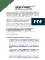 Análisis del Programa de la Coalición por el Cambio - Mauricio Riveros