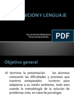 Cognicion y Lenguaje