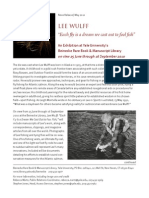 Wulff News Release