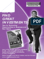 How to Find Great Investments