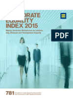 Human Rights Campaign 2015 Corporate Equality Index