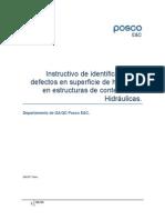 Instructivo de Identificacion de Defectos en Superficie de Hormigon.