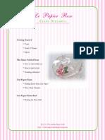 Le Papier Rose Syllabus