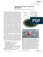 Chemical Network Algorithms for the Risk Assessment and Management of Chemical Threats