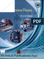Communications Theory by CHITODE