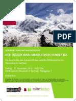 Der Träger war immer schon vorher da - Die Geschichte des Wanderns und Bergsteigens in den Alpen
