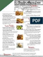 mahogany-restaurant menu