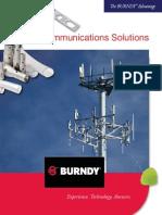 Burndy Telecom Solutions Brochure