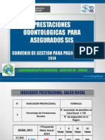 Exposicion Servicios de Odontologia 2014 (Fua)