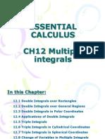 Ch12 Multiple Integrals