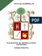 Plan Municipal de Desarrollo Rural Sustentable Ixtlahuacán de los Membrillos