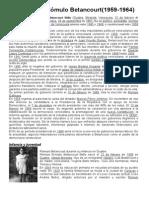 Gobierno de Rómulo Betancourt