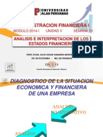 Analisis e Interpretacion de Los Estados Financiero