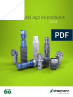 Straumann Brasil Catalogo de Produtos 2013