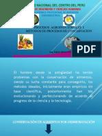 Conservación de Alimentos