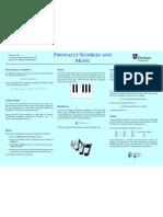 Fibonacci Numbers and Music