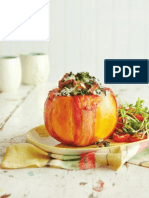 Bacon-Wrapped Butternut Stuffed with Kale & Blue Cheese