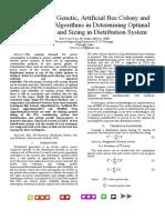 Distribution System - DG Sizing