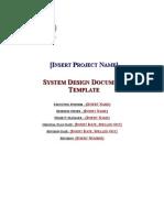 DoIT SystemDesignDocumentTemplate