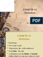 COMFTF-03 Definition (Power Point)-1[1]