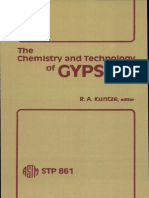 Chemistry and Technology of Gypsum