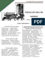 Antologia Mio Cid