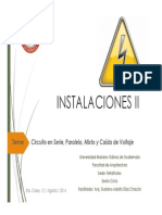 5to. Tema de Clase, C.serie, Paralelo, Mixto y C.V.