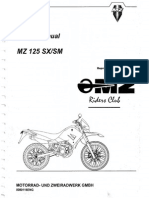 MZ 125 SM Repair Manual