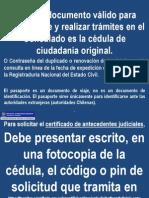 Solicitud de antecedentes penales en Antofagasta