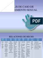 Analis de Caso de Hostigamiento Sexual