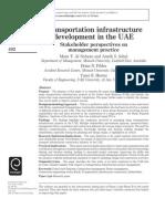 Transportation Infrastructure Development in the UAE