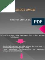 Presentasi Kuliah Biologi Umum - Metode Keilmuan