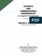 Discrete and Combinatorial Mathematics 3rd edition