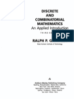 Discrete and Combinatorial Mathematics 3rd edition