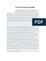 MAX FASTVP Best Practice Essentials