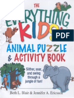 The Everything Kids Animal Puzzle Activity Book