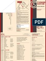 5th Ultrasound in Acute Care Leaflet