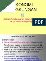 EKONOMI  LINGKUNGAN