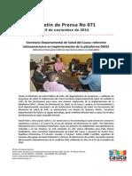 Boletin 071_Secretaría Departamental de Salud Del Cauca_ Referente Latinoamericano en Implementación de La Plataforma DHIS2