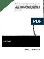 Ariel Dorfman. Poemas