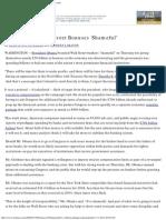 Obama Pressures Wall Street Over Bonuses - NYTimes.com