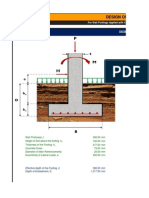 Design of Wall Footing